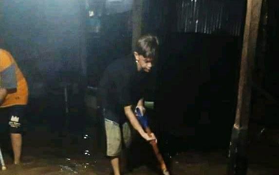 Banjir merendam Bitung , warga berharap pemerintah bisa tangani dengan tepat