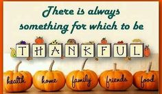 Celebrations for thank giving