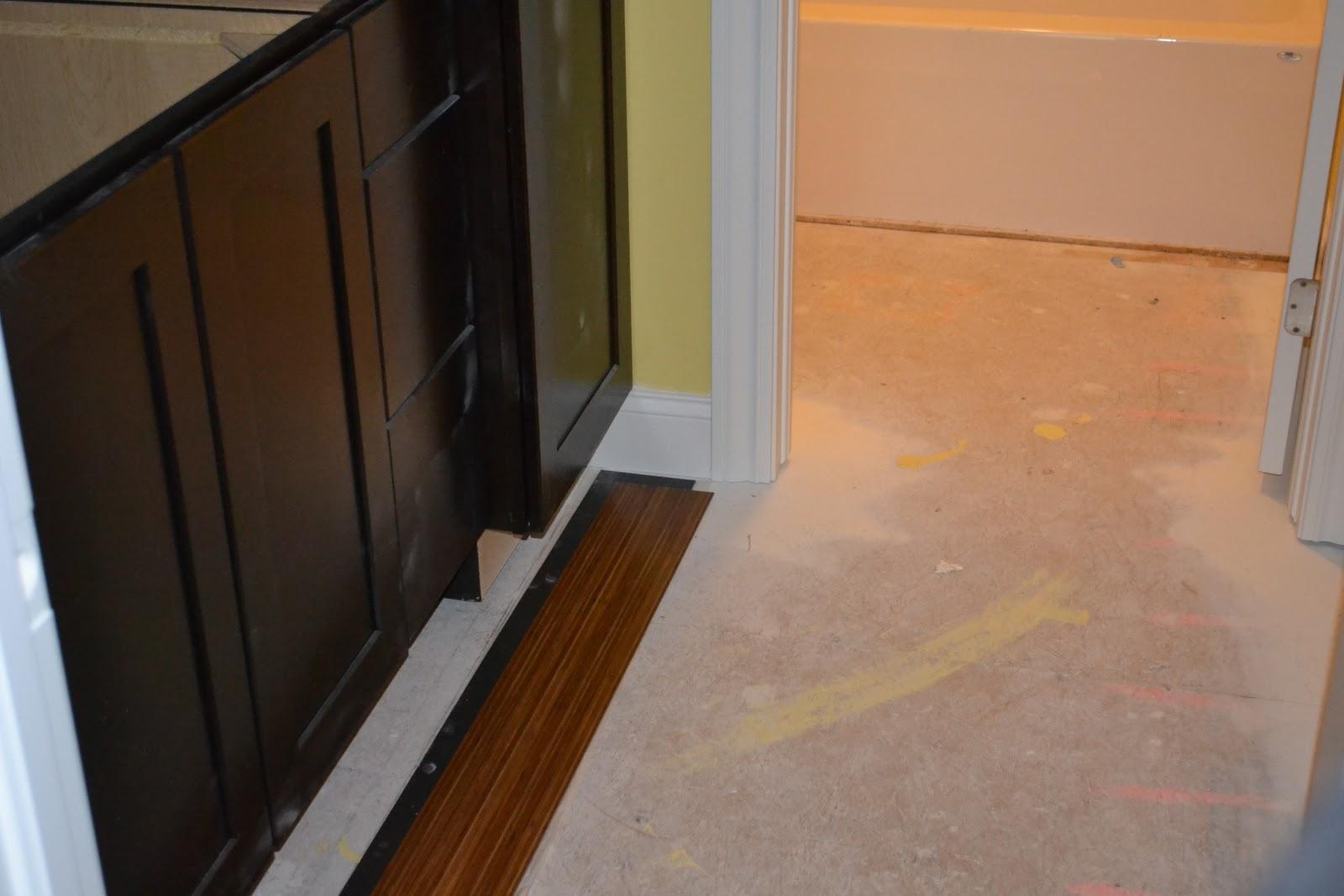 Lighting Basement Washroom Stairs: De Jong Dream House: Up Next: Flooring