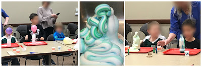 elephant's toothpaste, inflating balloons, it's a gas,