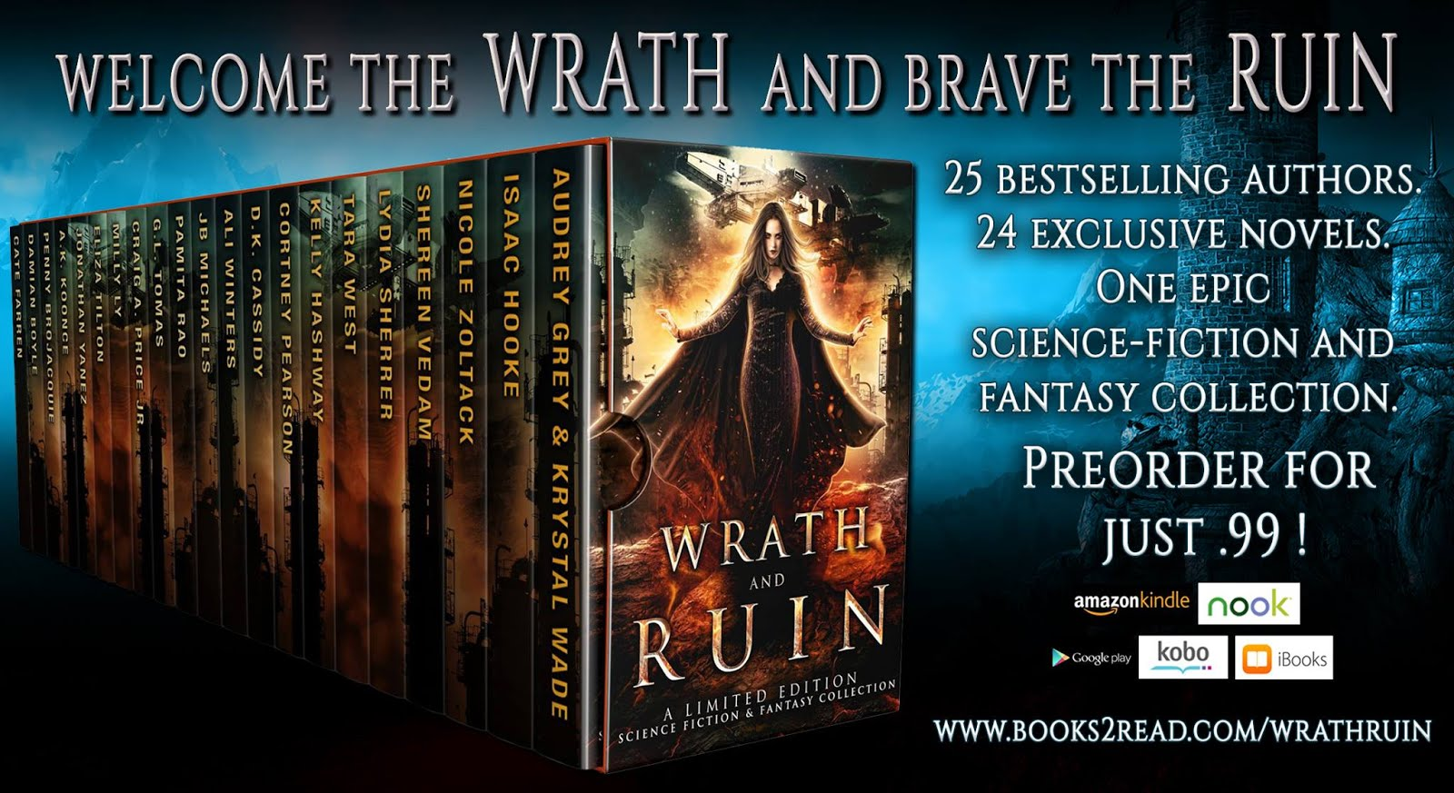 Wrath and Ruin Box Set