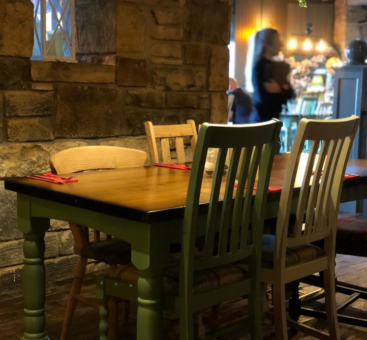 The Woodmans Arms Review | Sunday Lunch near Gibside  - interior design