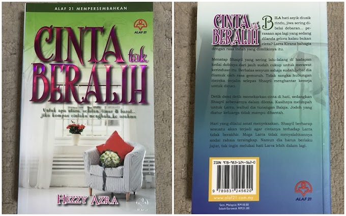 Novel Cinta Tak Beralih By Hezzy Azra