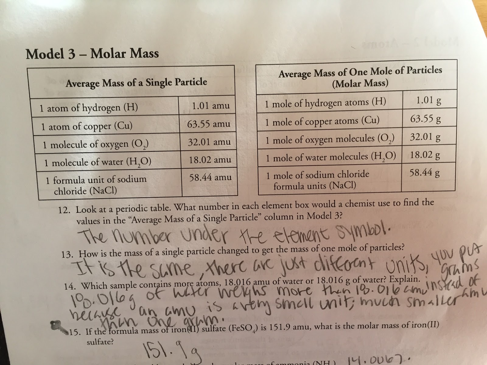 Maya S Chem 2a 5th Hour Blog October