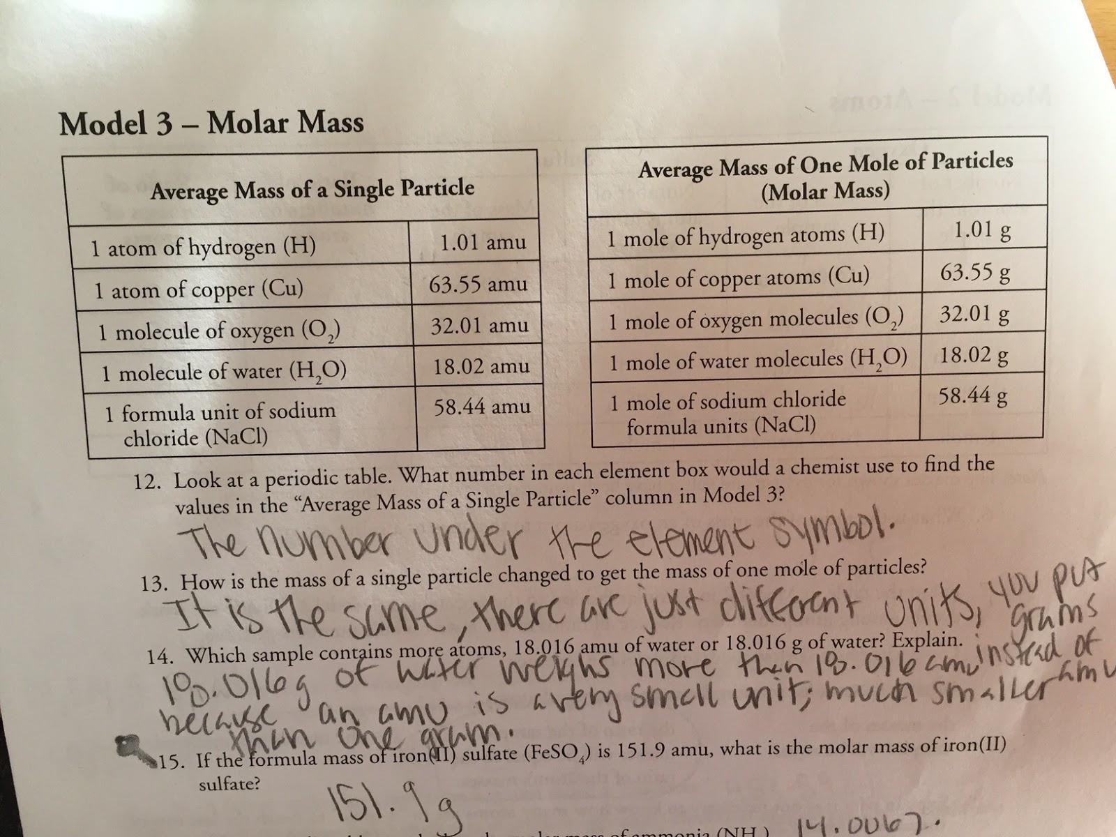 Maya S Chem 2a 5th Hour Blog October
