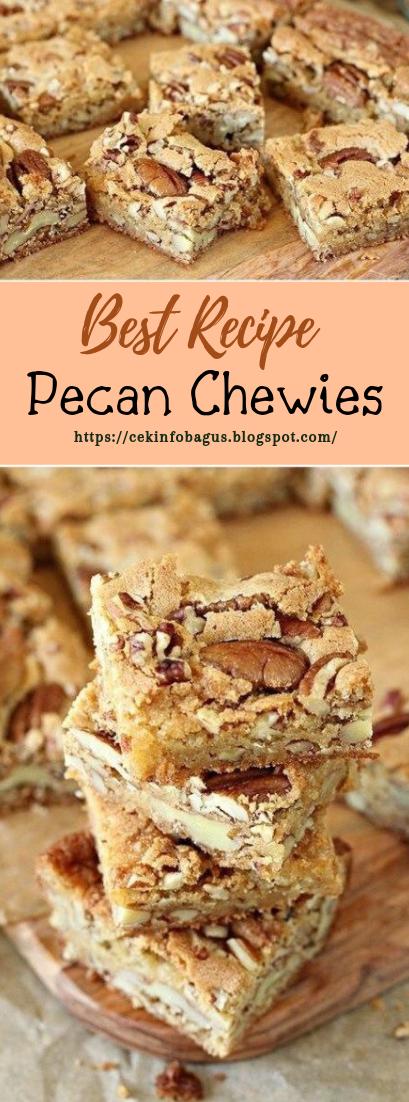 Pecan Chewies #desserts #cakerecipe #chocolate