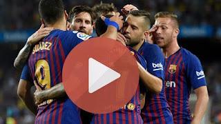 مشاهدة مباراة برشلونة وقادش بث مباشر