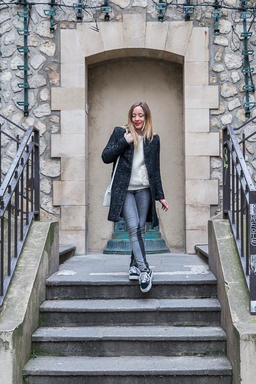 blog mode tenue noir et blanc