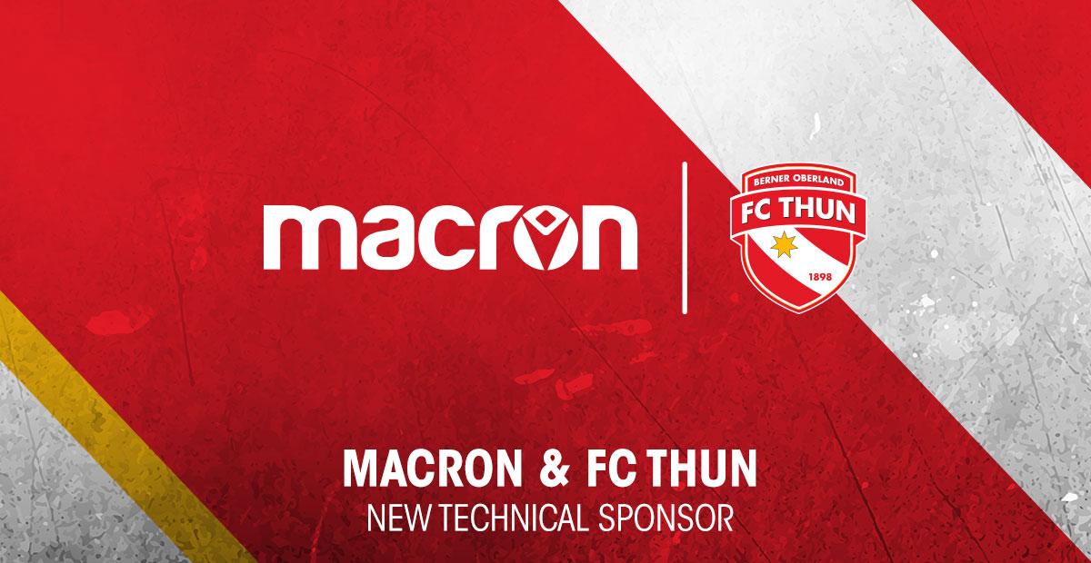 8f2b6c6903eda Macron sponsor tecnico dell'FC Thun - Sport Business Management