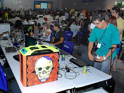 A arte do case modding presente no Campus Party Brasil 2012