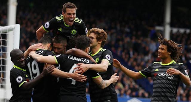 Hasil Liga Inggris Pekan 34, Everton vs Chelsea 0-3