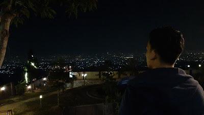 Caringin Tilu, Kota Bandung Malam Hari