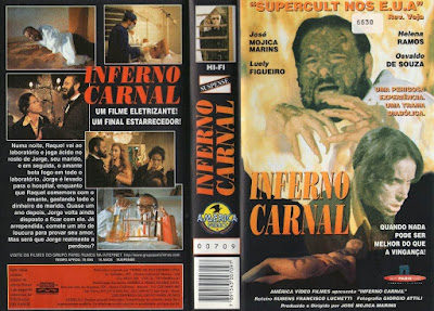 Filme Inferno Carnal DVD Capa