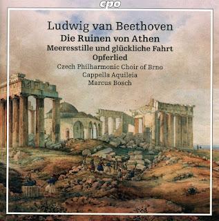 Beethoven Die Ruinen von Athen; Czech Philharmonic Choir of Brno, Cappella Aquileia, Marcus Bosch; cpo