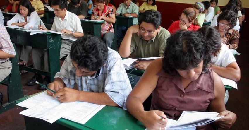 MINEDU: Más de 220 mil postulantes serán evaluados este domingo 28 para acceder a plazas en Concurso de Nombramiento Docente y Contrato Docente 2017 - www.minedu.gob.pe