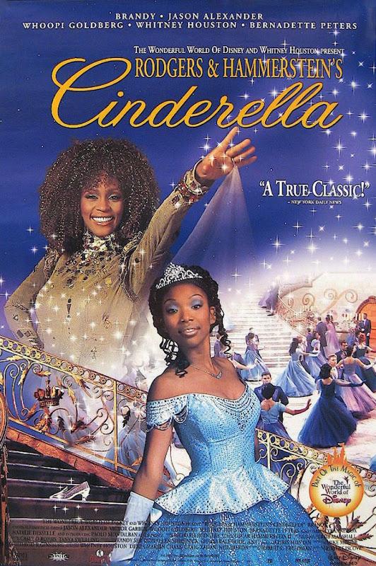 1997 Rodgers Hammerstein Cinderella poster