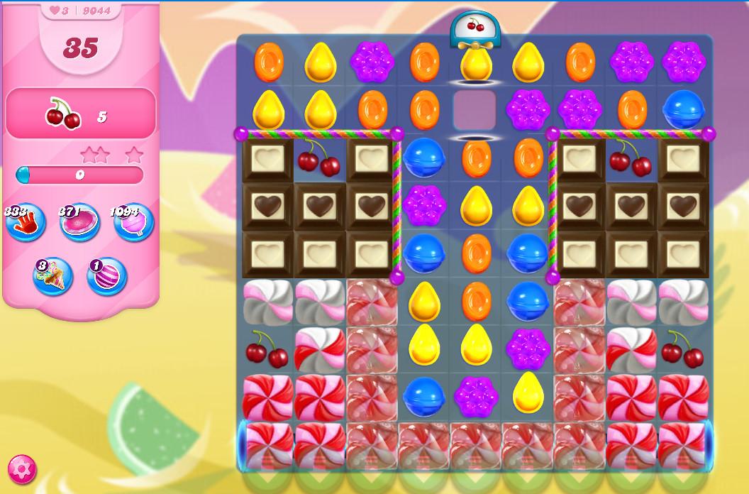 Candy Crush Saga level 9044