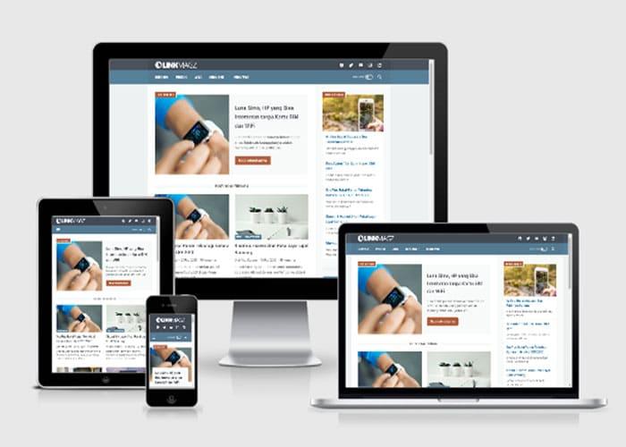 LinkMagz Template Blogspot Responsive