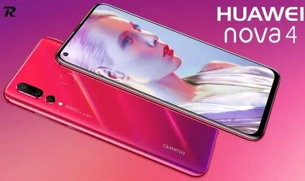 سعر ومواصفات Huawei Nova 4-مميزات وعيوب هواوي نوفا 4