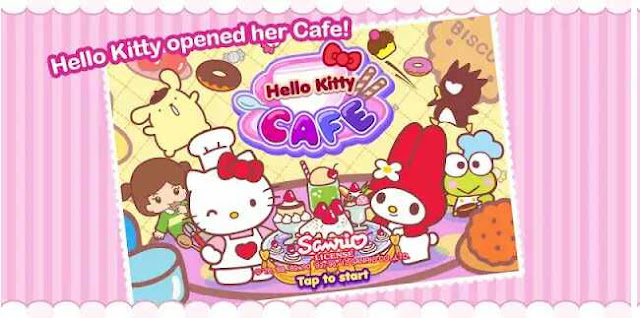 Game Hello kitty Cafe