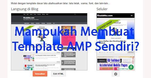 Merakit Template AMP