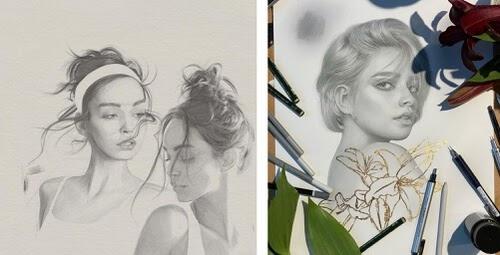 00-Pencil-Portraits-Kei-Meguro-目黒ケイ-www-designstack-co