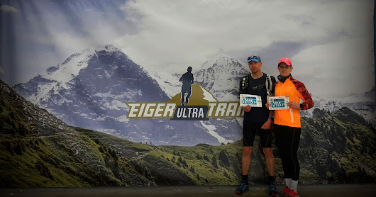Eiger Ultra Trail 51k Couples, Grindelwald Sveitsi 15.7.2016