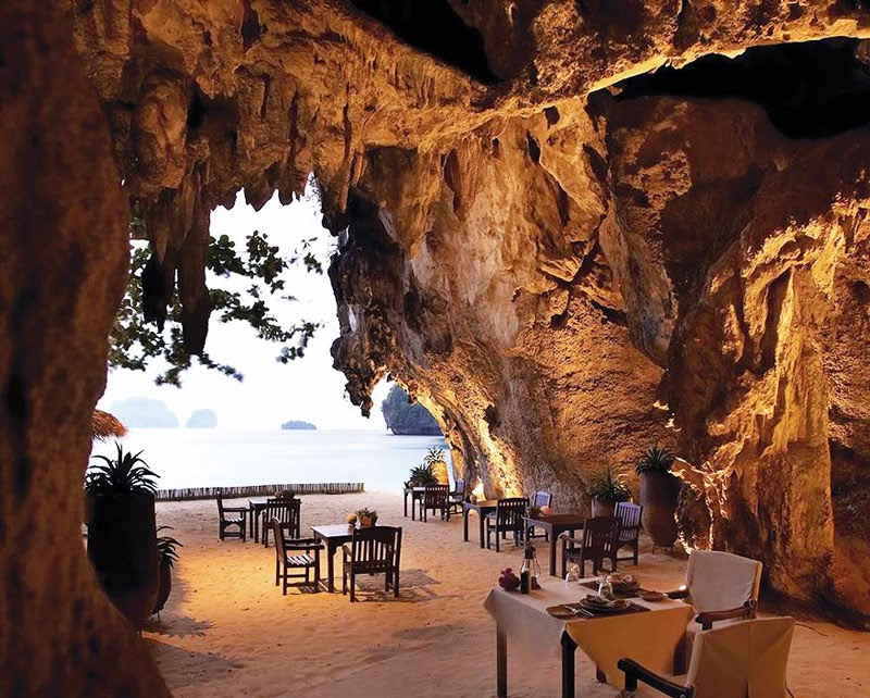 5. Rayavadee Krabi, Thailand - 10 Amazing Hotels You Need To Visit Before You Die