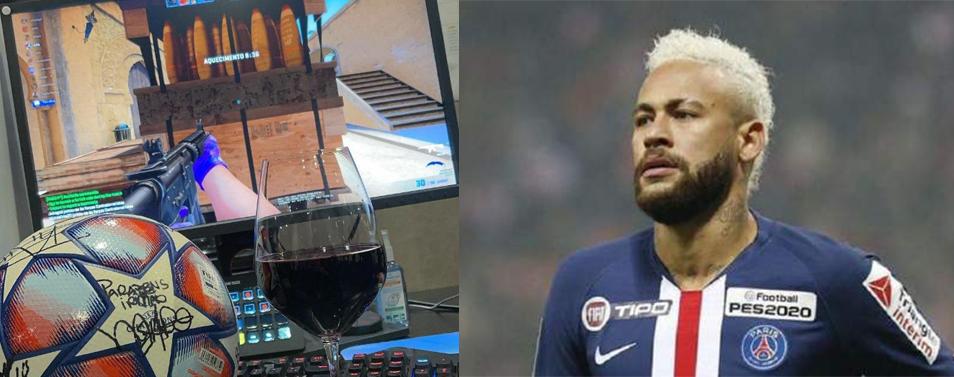 neymar cs go liga mistrzow