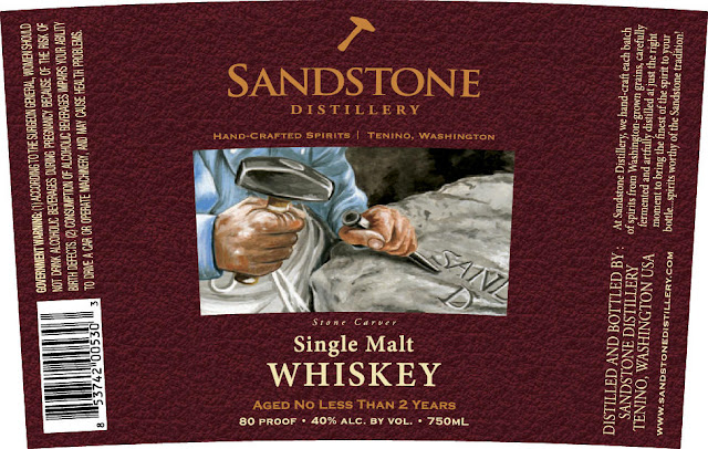 Sandstone Distillery Stone Carver Single Malt Whiskey