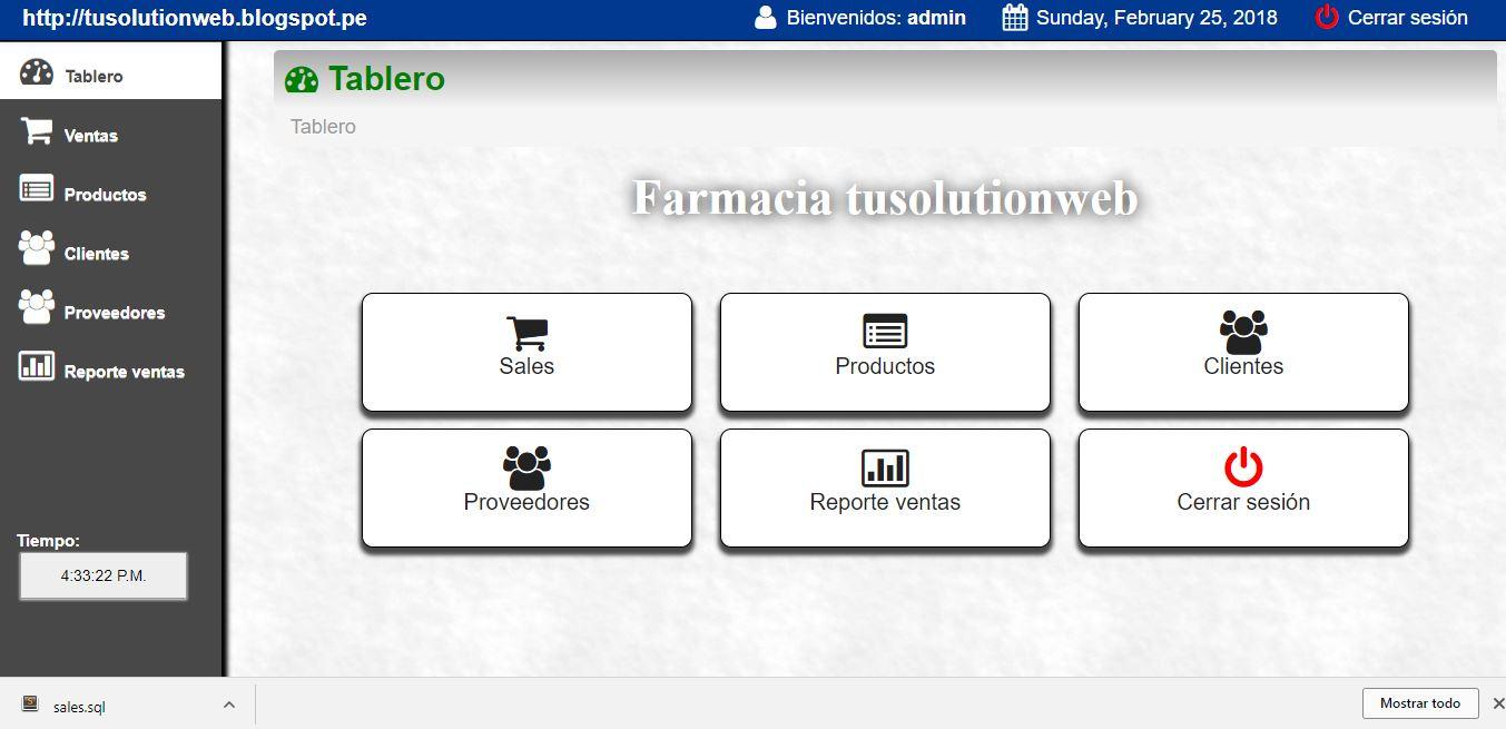 sistema punto de venta php mysql ajax (codigo gratis) ~ Tusolutionweb