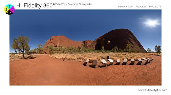 Uluru Northern Territory, Mutitjulu Waterhole Walk - photographed for a Hi-Fidelity 360° Virtual Tour by Kent Johnson Photography.