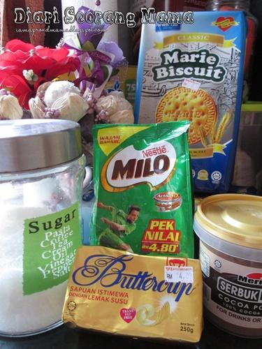 Cara Membuat Kek Batik Yang Mudah