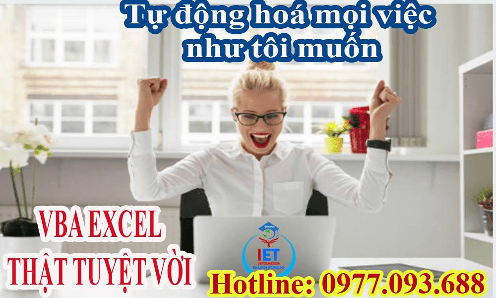 Học Excel từ cơ bản đến nâng cao tại Biên Hoà -Đồng Nai
