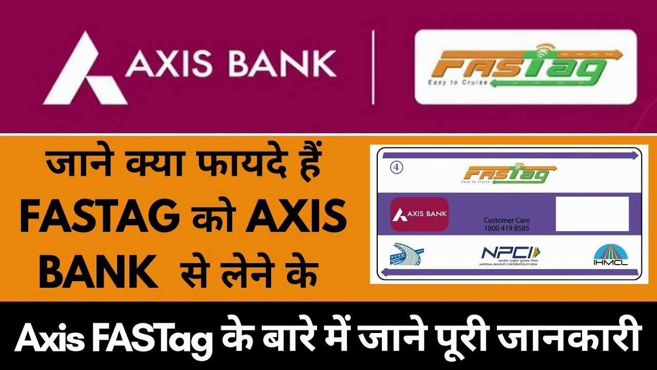 Axis Bank FASTag recharge process