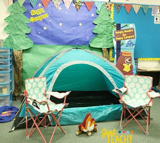 camping-classroom-theme-setup