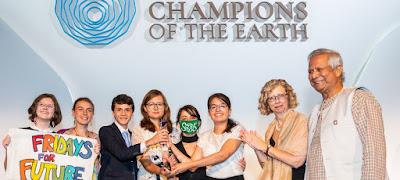 ONU defiende a chicos que protestaron por el cambio climático