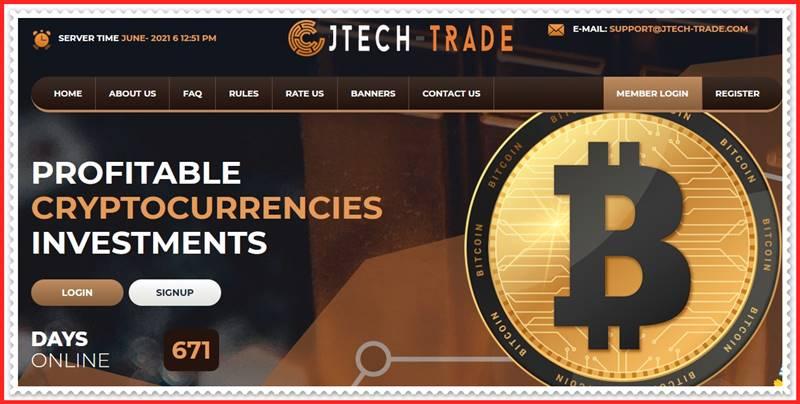 Мошеннический сайт jtech-trade.com – Отзывы, развод, платит или лохотрон? Мошенники