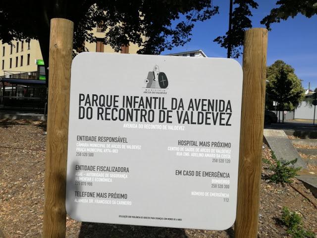 Parque infantil da Avenida do Recontro de Valdevez
