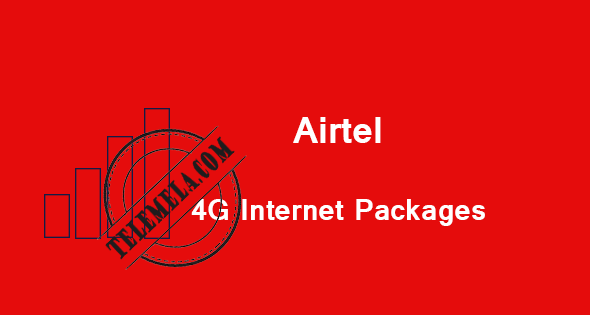 Airtel 4G Internet Packages