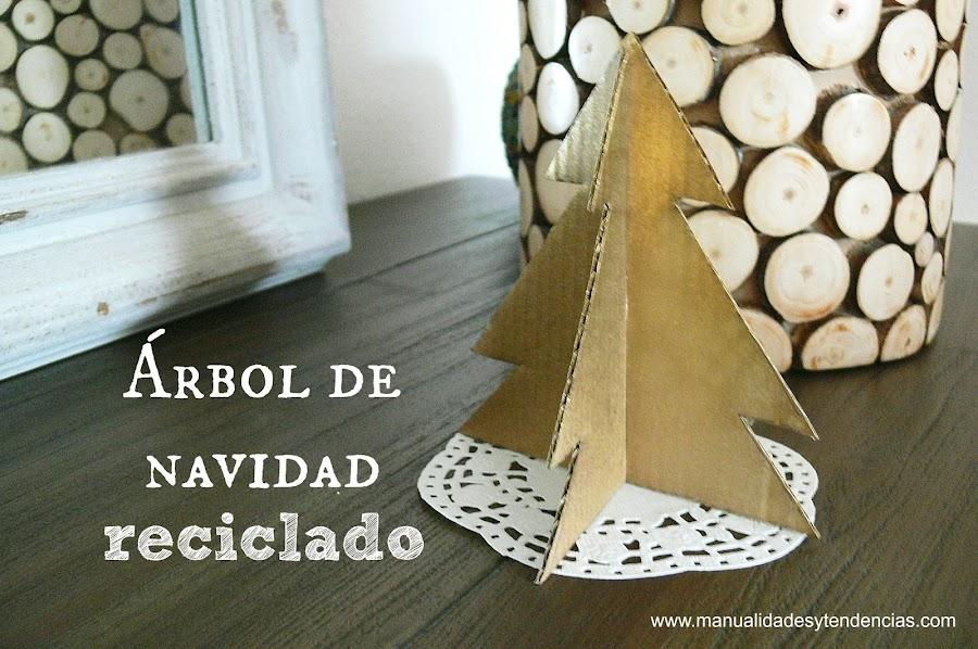 Cómo hacer un árbol de Navidad montable