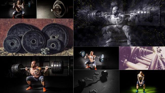 تحميل 9 صور للتدريبات في صالة الألعاب الرياضية جودة عالية