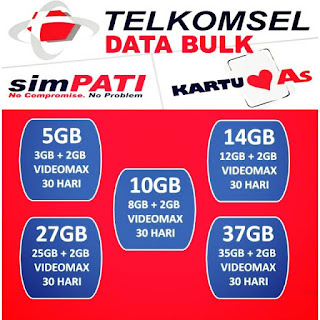 paket internet telkomsel data bulk