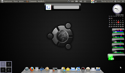 BlackBuntu Desktop