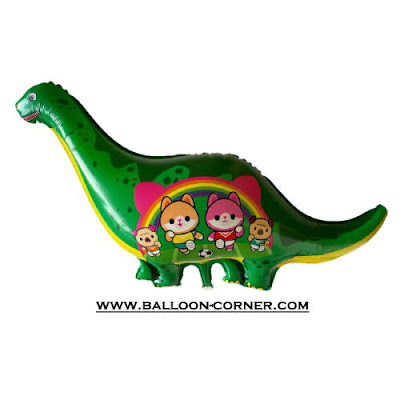 Balon Foil Dinosaurus