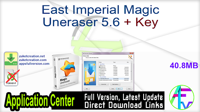 East Imperial Magic Uneraser 5.6 + Key