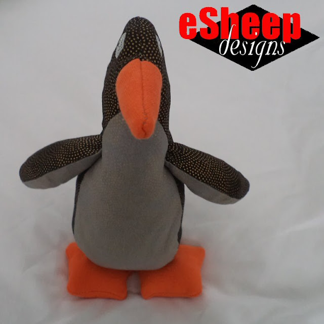 Purl Bee Penguin crafted by eSheep Designs