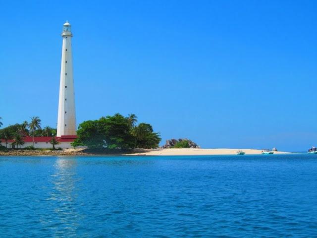 Pantai Tanjung Kalian Bangka