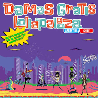 DESCARGAR CD DAMAS GRATIS - EN VIVO EN LOLLAPALOOZA (CD COMPLETO)
