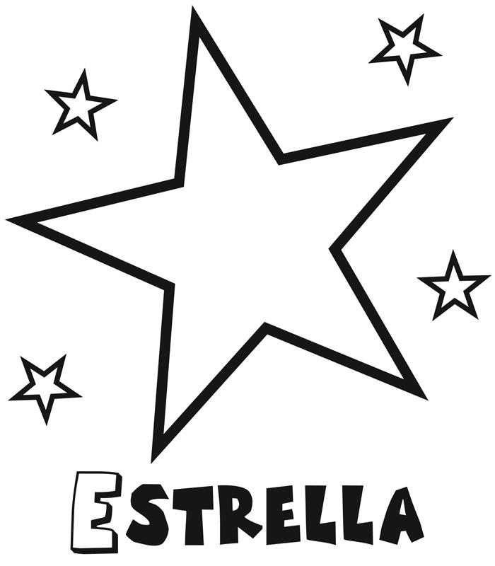 Estrellas Para Colorear Y Recortar Adaptador De Red Plc